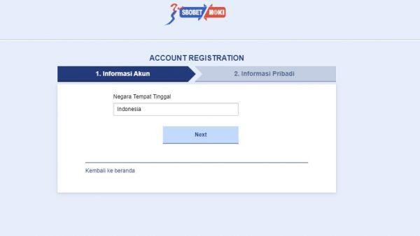 Cara Melakukan Registrasi di Sbobethub